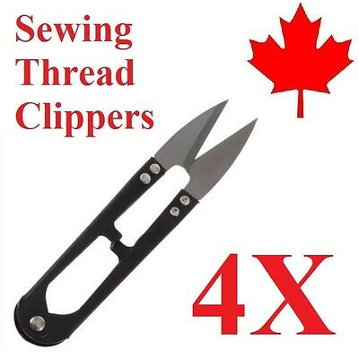 4x Embroidery Sewing Snips Thread Cutter Scissors Nipper Clippers Thrum Yarn