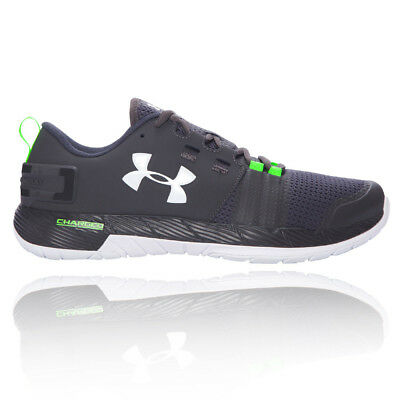 Under Armour Resolve TR Mens Green Black Training Sports Shoes Trainers Pumps