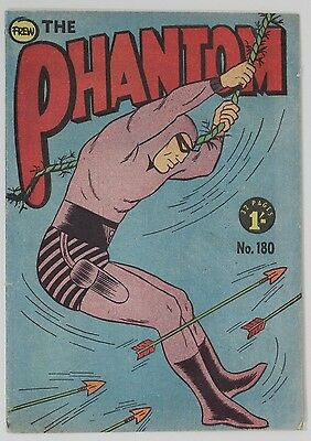 Frew Phantom Comic Book Number 180, Very Fine Condition, Collectable