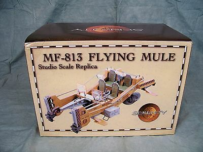 Serenity Firefly MF-813 Flying Mule Studio Scale Replica *NIB* Quantum Mechanix