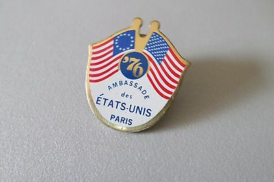 rare pin s Ambassade des Etats Unis a Paris drapeau usa embassy en France