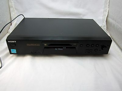 SONY MiniDisc Player MDS JE480 ATRAC Mini Disc TESTED and WORKS