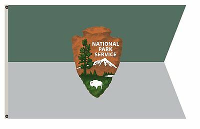 Department of the Interior banner Guidon of the National Park Service flag 3x5ft
