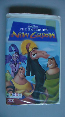 The Emperor's New Groove VHS Video Cassette - Disney 2000