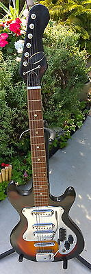Rare Vintage 1965-68 Japanese Made Imperial 3Pu Guitar
