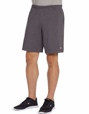 Champion Mens Jersey Cotton Shorts With Pockets 4 Colors XL Lg Med Sm New