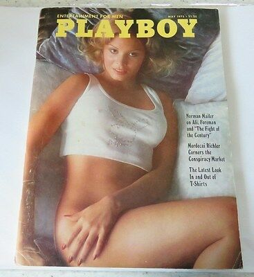 1975 US Playboy Men's Magazine - May Issue