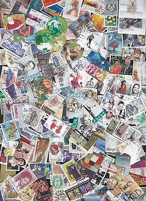 NORWAY 240 different modern & recent stamps issued between 1992-2012 CV = 335$