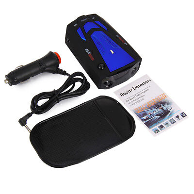 V7 360 Degrees 16Band Scanning LED Radar Detector Laser Car Speed Testing New