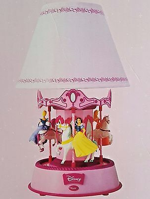 Disney Princess Carousel Lamp~Original Box~Never used