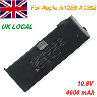 """Laptop Battery for Apple MacBook Pro Unibody 15"""" inch i7 A1286 A1382  Early 2011"""