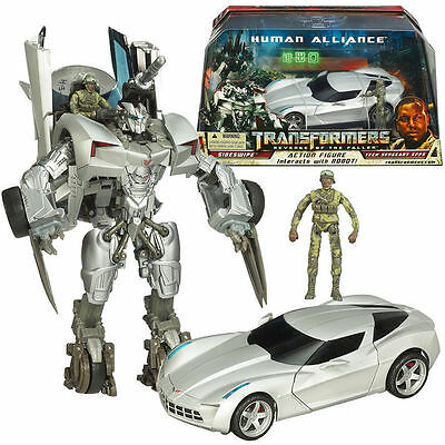 Transformers Rotf Sideswipe Tech Sergeant Epps Human Alliance Action Figures Toy