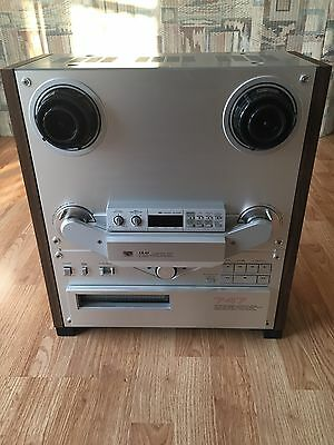 Vintage Akai Gx-747 Professional Reel To Reel Tape Deck Recorder Turns On Rare