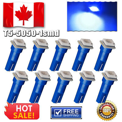 10 x T10 Wedge High Power Interior Map Dome License 6 LED Lights Projector Lens