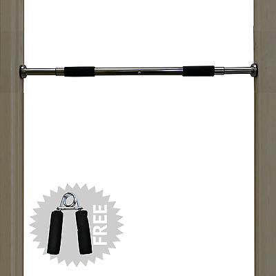 TurnerMAX Chin Pull Up Bar Fitness Workout Gym Door Exercise