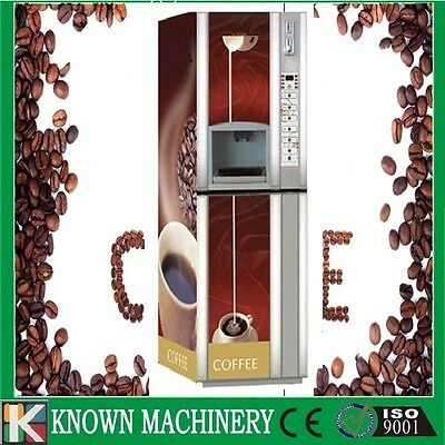 Bill accepted automatic coffee vending machine hot drink dispenser machine
