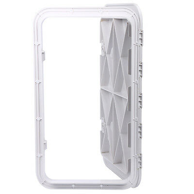 Access hatch lid white 606 x 353mm Marine/Caravan/RV/Storage Factory Best Price