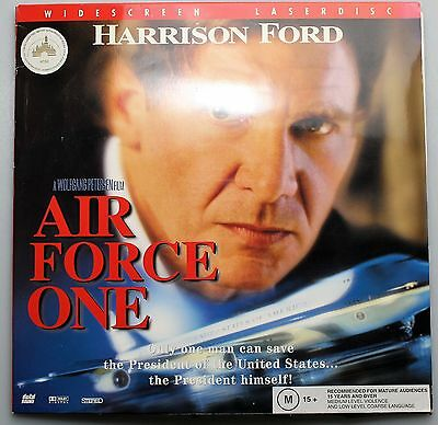 Widescreen Laser Disc AIR FORCE ONE: Harrison Ford