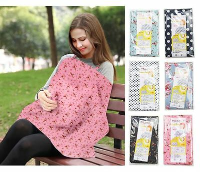 Baby Breastfeeding Cover Nursing Cover Flex Neckline Design Cotton