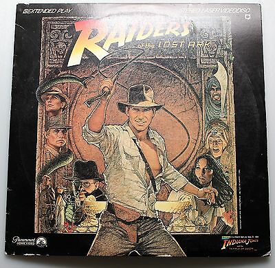 Widescreen Laser Disc RAIDERS of the Lost Ark: Harrison Ford