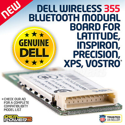 DELL Wireless 355 Bluetooth Module Vostro 1310 1400 1420 1500 1700 XPS M140 M170