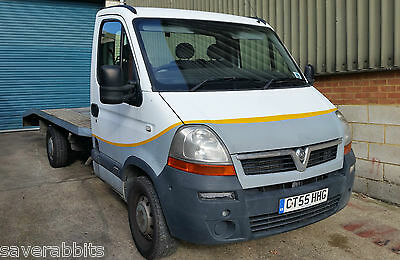 2005 Vauxhall Movano Recovery Truck Flat Bed 2.5 Turbo Diesel 3500 Not Transit
