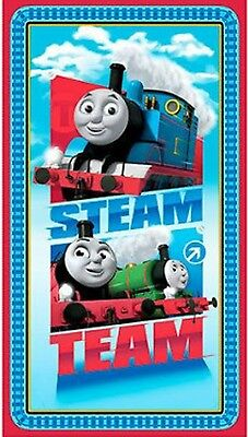 Thomas & Friends * Steam Team * Quilt Panel * In Stock * Free Post *
