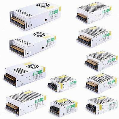 UK Stock DC 24V Universal Regulated Switching Power Supply for LED Strip/CCTV
