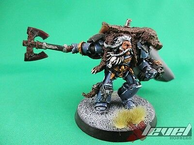 Logan Grimnar  [x1] Space Wolves [Warhammer 40,000] Painted