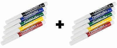 Wilton Edible Marker Color Cake Decorating Bold Or Fine Tip 609-100 (2-Pack)