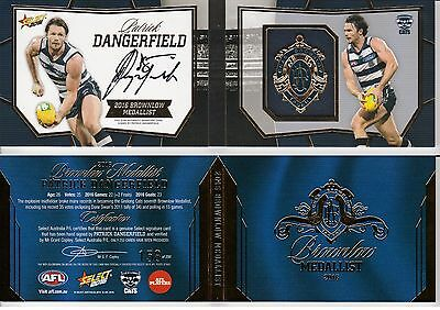 2016 Select Footy Stars Brownlow Predictor Dangerfield RARE #158 Geelong Cats
