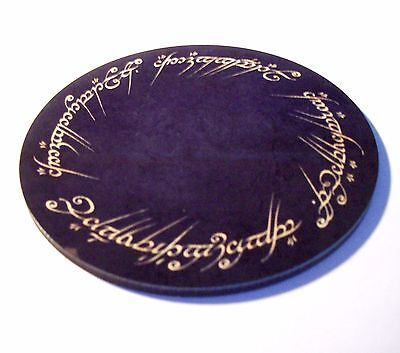 LOTR Tolkien One Ring To Rule Them All Coaster