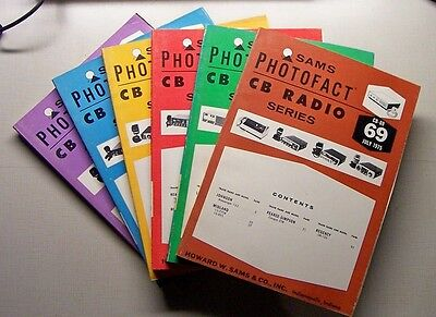 SAMS Photofact CB Radio Series Books CB-15 thru CB-277