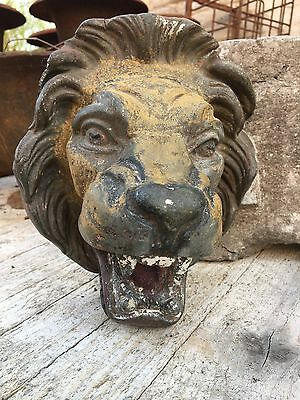 RARE Antique Victorian Lion Fountain Spout in lead circa 1880