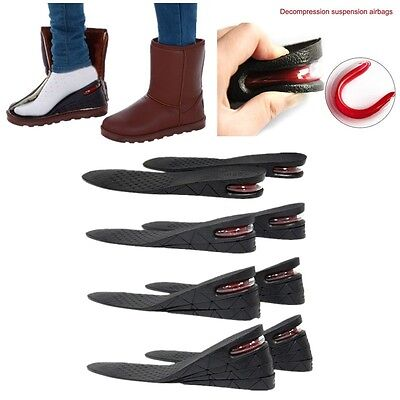 3/5/7/9cm Shoe Lift Height Increase Heel Lifts Insoles Taller Air Cushion
