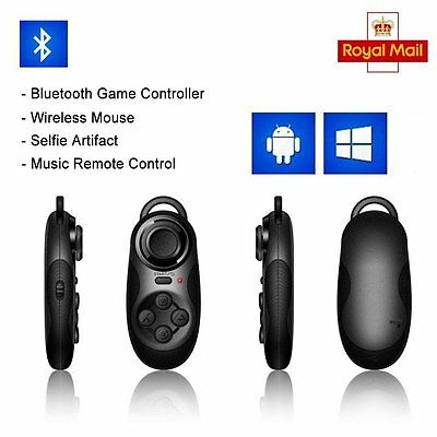 Bluetooth Wireless Selfie Shutter Remote Control Gamepad For Samsung S7 S8 Plus