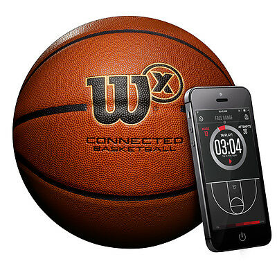 WILSON x-connected smart basketball