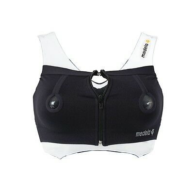 BRAND NEW Medela Easy Expression Bustier - Small Black - Breastfeeding Specialis