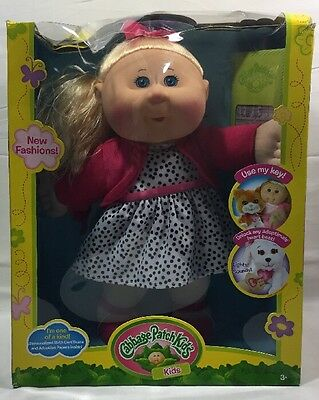 Cabbage Patch Kids14 inch Blonde Girl Doll - Trendy W1