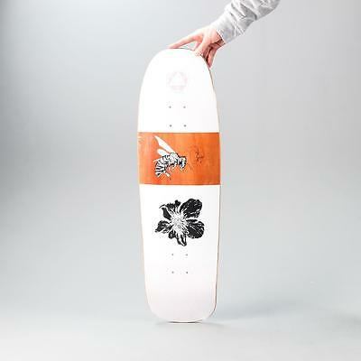 Welcome Skateboards Adaptation Slappy Slap Skate Deck Board White 9.5 Inch