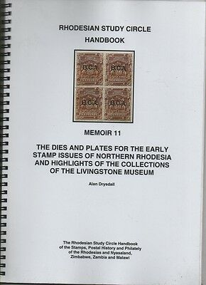 Philatelic Literature - Northern Rhodesia dies & plats for early issues Drysdall