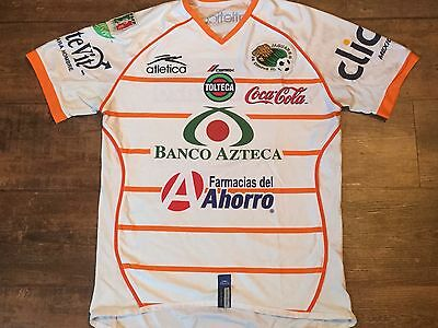 2006 2007 Jaguares de Chiapas Football Shirt Adults Medium Mexico Camiseta