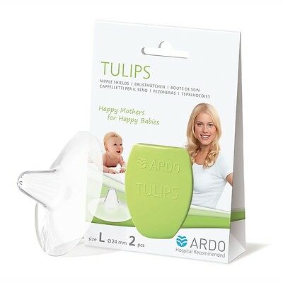 BRAND NEW ARDO Tulips Nipple Shields  - Breastfeeding Specialists