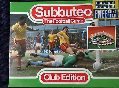 Subbuteo Club Edition With Free Extra Teams