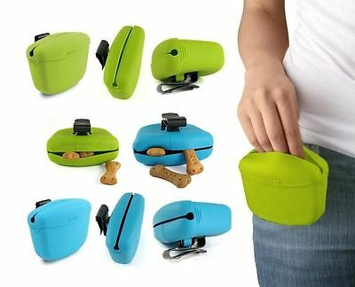 Dexas Popware ODOUR FREE Clip-on Dog Puppy Obedience Training Treat Bag Pouch