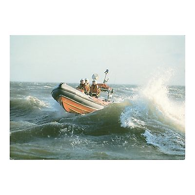 Atlantic 21-Class Lifeboat Rnli Postcard