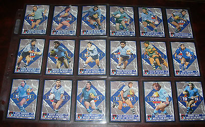 NSW~BEST OF THE BLUES Full set of 18 Cards ~1994 Series 2~Dynamic Rugby League..