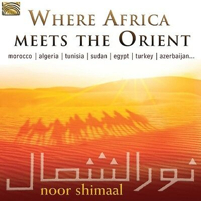 Noor SHIMAAL-Various Countries / Where Africa Meets the Orient / (1 CD) / neuf