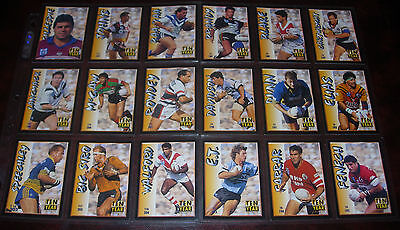 TEN YEAR TRIBUTE Full set of 18 Cards ~1994 Series 2~Dynamic Rugby League Cards
