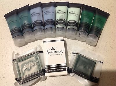 PETER MORRISSEY Signeture Travel Set(Shampoo,Conditioner,Body Wash&Lotion,Soaps)